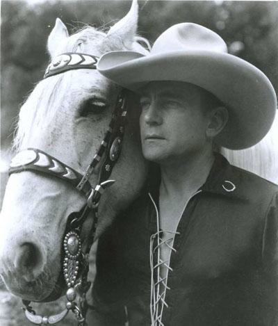 Buck Jones and Silver