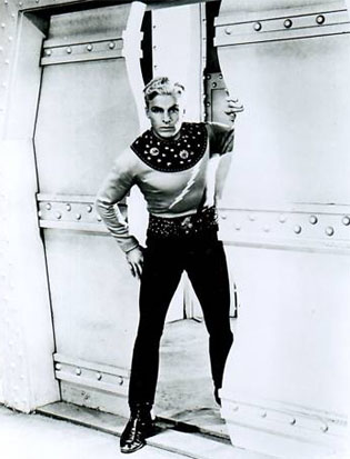 Buster Crabbe as Flash 2