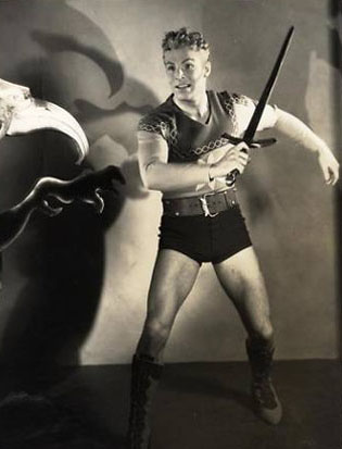Buster Crabbe as Flash