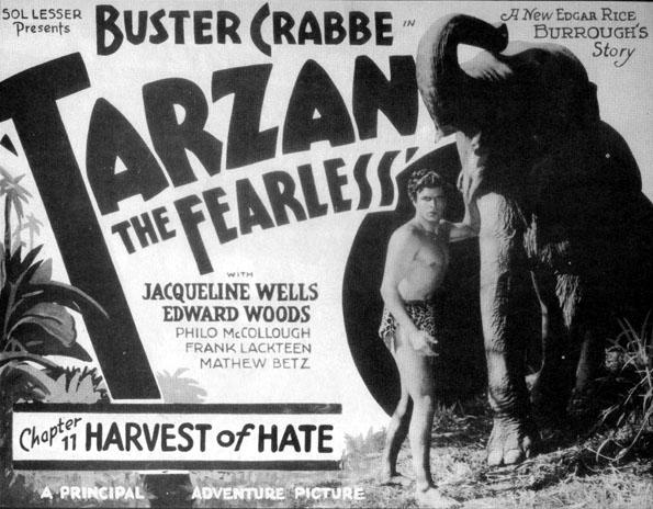 Buster Crabbe--Tarzan
