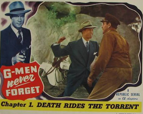 Clayton Moore and Bud Wolfe