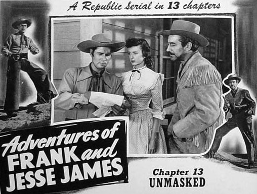 Clayton Moore--Frank and Jesse James 2