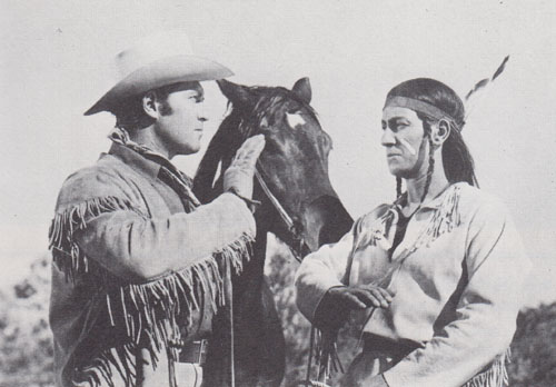 Clayton Moore--Son of Geronimo 1