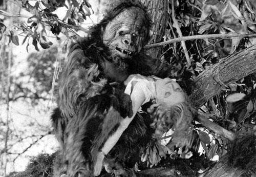 Lucile Browne--Danger Island gorilla