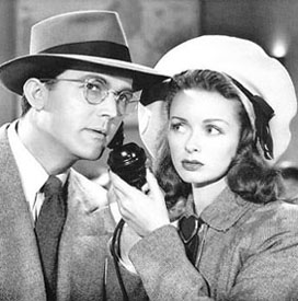 Noel Neill and Clark Kent 2