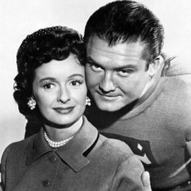Noel Neill--with George Reeves