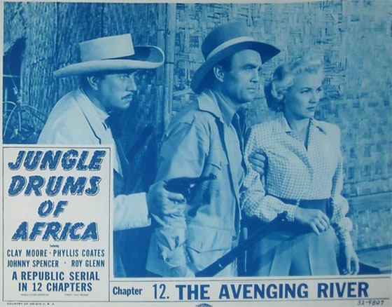 Phyllis Coates--Jungle Drums 2