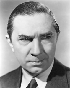 Bela Lugosi--Phantom Creeps portrait