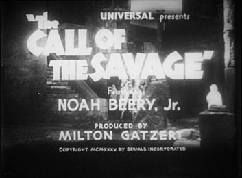 Call of the Savage titles