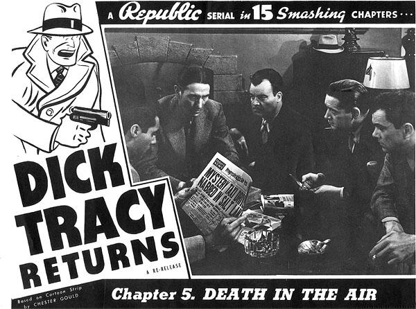 Charles Middleton--Dick Tracy Returns