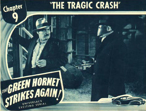 Harry Cording--Green Hornet
