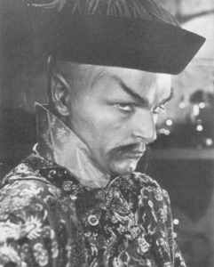 Henry Brandon as Fu Manchu