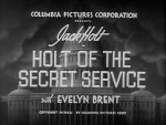 Holt of the Secret Service--titles