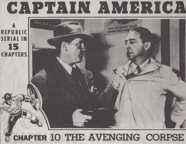 Kenne Duncan--Captain America