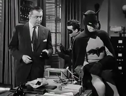 Lyle Talbot--Batman and Robin