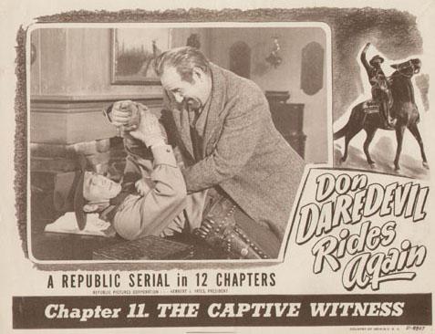 Roy Barcroft--Don Daredevils