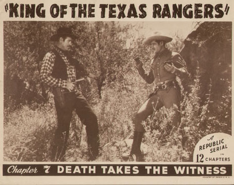 Roy Barcroft--King of the Texas Rangers