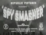 Spy Smasher titles