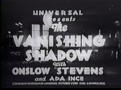 Vanishing Shadow titles