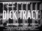 Dick Tracy--titles