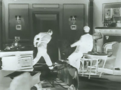 Dick Tracy vs. Crime Inc.--negative fight