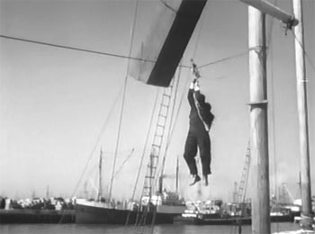 Dick Tracy vs. Crime Inc.--yacht fight 2