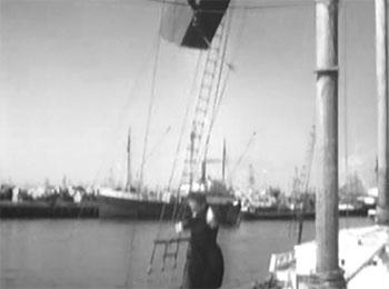 Dick Tracy vs. Crime Inc.--yacht fight 3