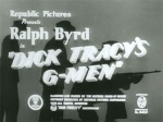 Dick Tracy's G-Men--titles