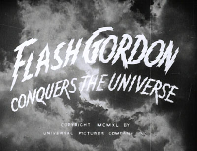 Flash Gordon Conquers the Universe--titles