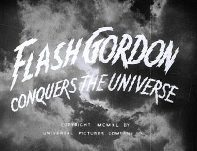 Flash Gordon Conquers the Universe--titles
