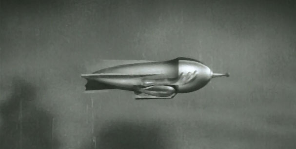 Flash Gordon--the spaceship