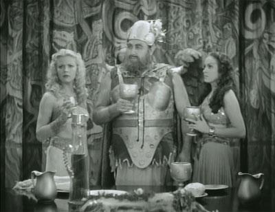 Flash Gordon--Vultan's banquet