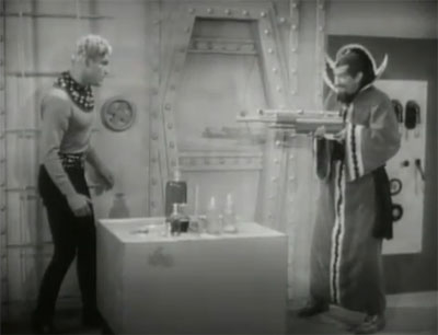Flash Gordon's Trip to Mars--Flash and Ming
