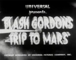 Flash Gordon's Trip to Mars titles