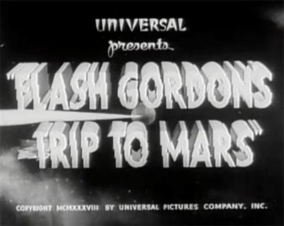 Flash Gordon's Trip to Mars titles