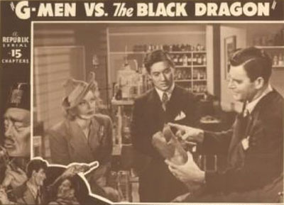 G-men vs. the Black Dragon--good guys
