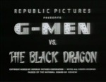 G-Men vs. the Black Dragon titles
