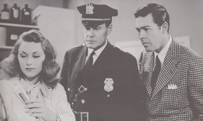 Manhunt of Mystery Island--Claire, Inspector, and Lance