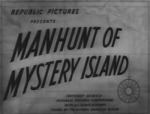 Manhunt of Mystery Island--titles