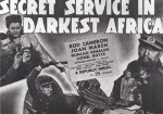 Secret Service in Darkest Africa--title card