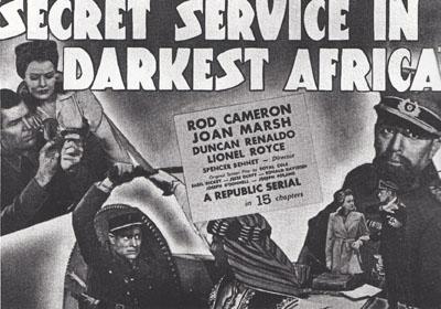 Secret Service in Darkest Africa--title card