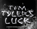 Tim Tyler's Luck--titles
