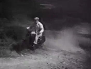 Burn em up Barnes--motorcycle