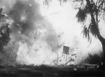 Captain America--garage explosion 2