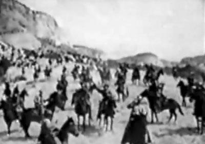 Great Adventures of Wild Bill Hickok--Raiders gathering