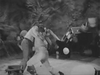 Haunted Harbor--cave fight