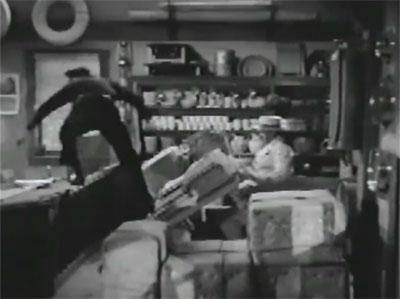 Haunted Harbor--trading post brawl