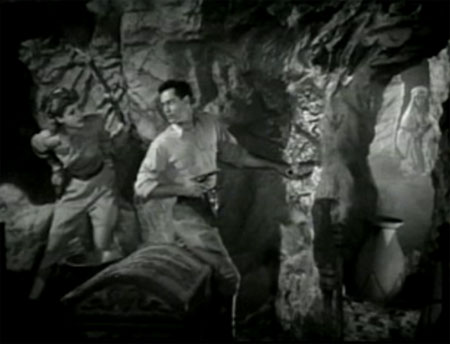 Perils of Nyoka--Aldridge and Moore in the caves