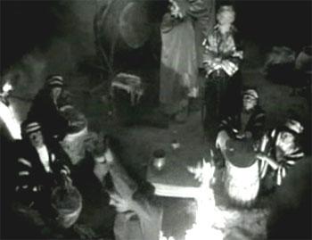 Perils of Nyoka--Fire pit