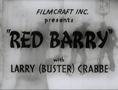 Red Barry titles